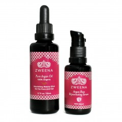 Argan Oil & Argan Rose Serum – Special Set (Save $10)