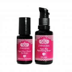 Argan Rose Face & Eye Serum – Special Set (Save $10)