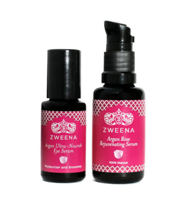 Zweena-Argan-Rose-Face-Serum-and-Argan-Ultra-Nourish-Eye-Serum-Set (1)