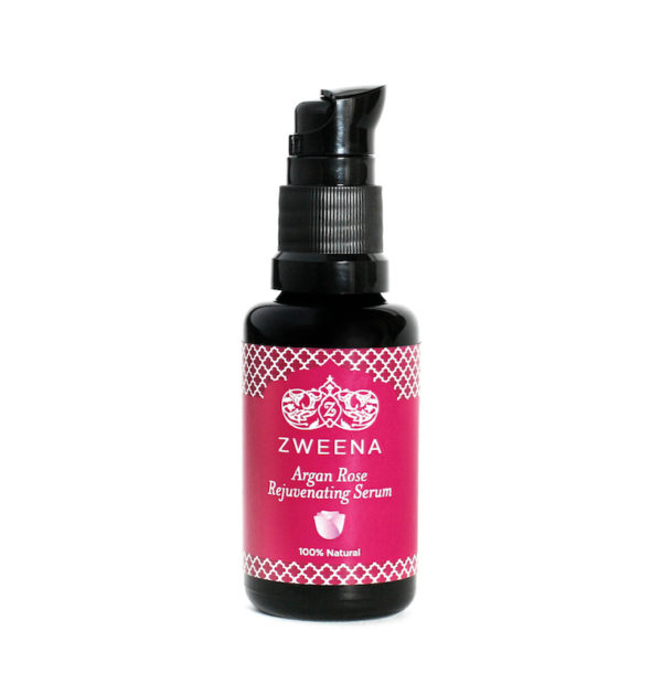 Zweena-Argan-Rose-Rejuvenating-Face-Serum